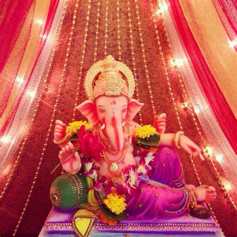 ganpati home decoration 70 best images about ganpati decoration on