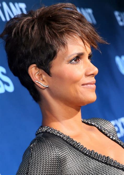 how to get halle berry pixie cut tousled pixie cut for black women halle berry short