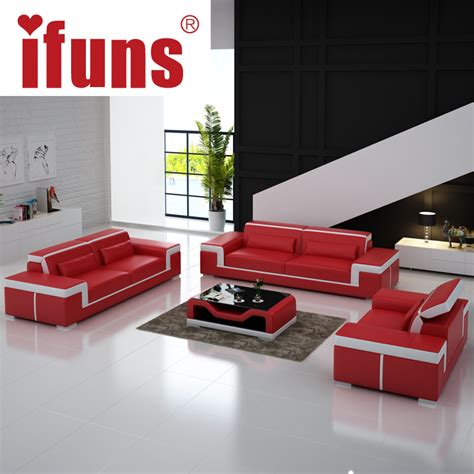luxury leather sofa sets ifuns modern leather sectional sofa set living room