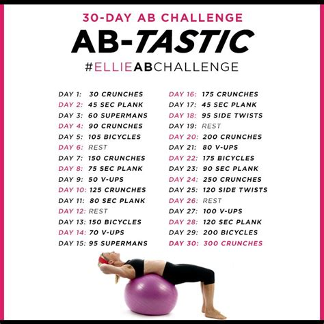 ab work out challenge 30 day ab challenge workout challenges 30
