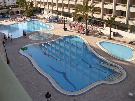 spar next door to hotel picture of kn columbus aparthotel playa de las americas tripadvisor the poolfrom are room