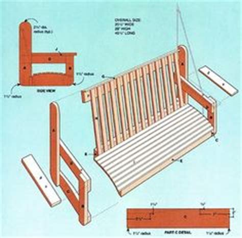 swing pdf free download pdf diy double porch swing plans download do it yourself