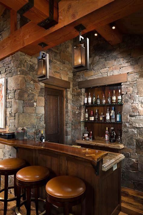 angolo bar casa 16 esempi di angolo bar in casa con arredamento rustico