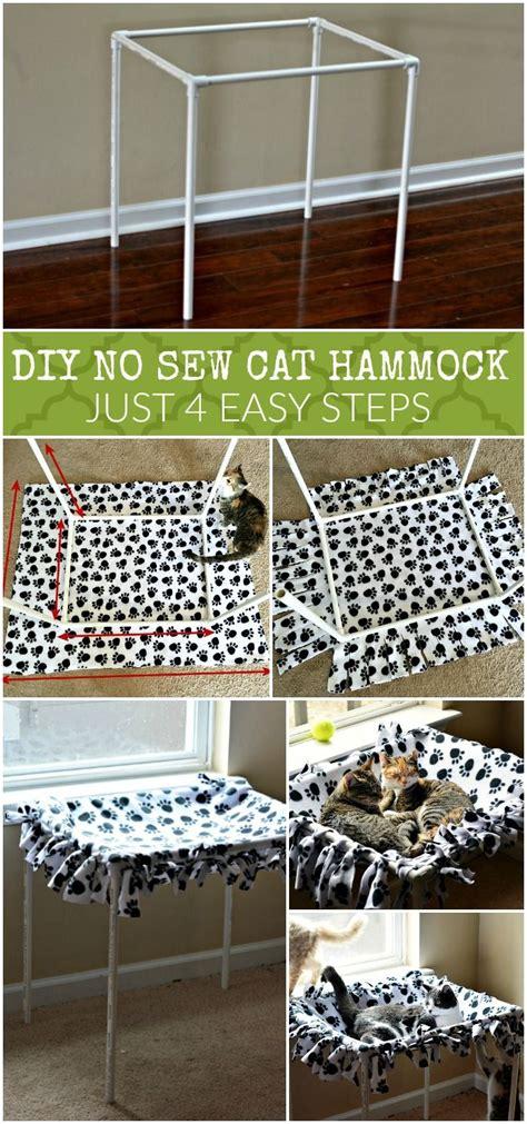 diy  sew cat hammock tutorial   steps crafting