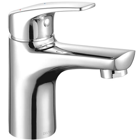 kitchen faucet low flow delta modern low flow project pack single single handle bathroom faucet in chrome 534lf hgm