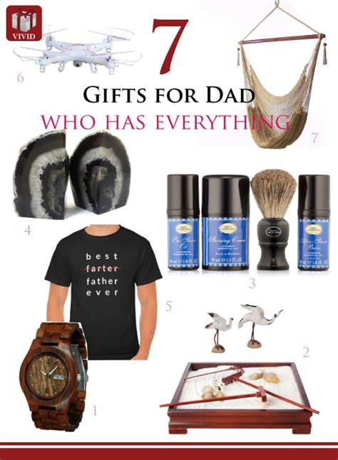 7 great gift ideas for dad who has everything vivid s