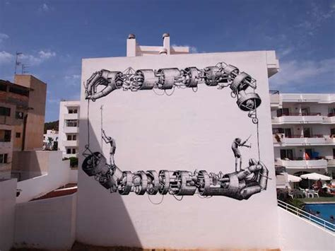 free design for phlet huge mechanical arm murals phlegm mural