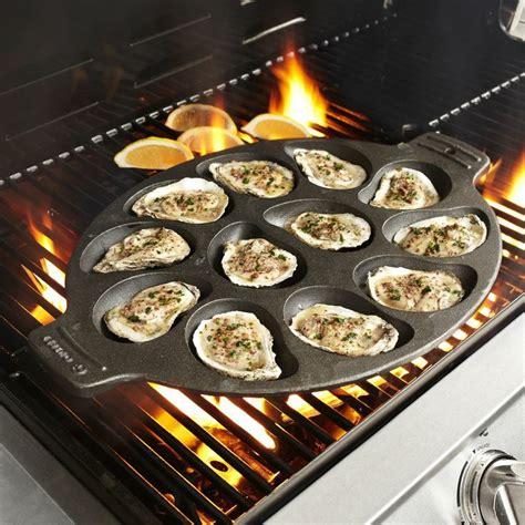 sur la table cast iron cast iron oyster pan sur la table eats pinterest