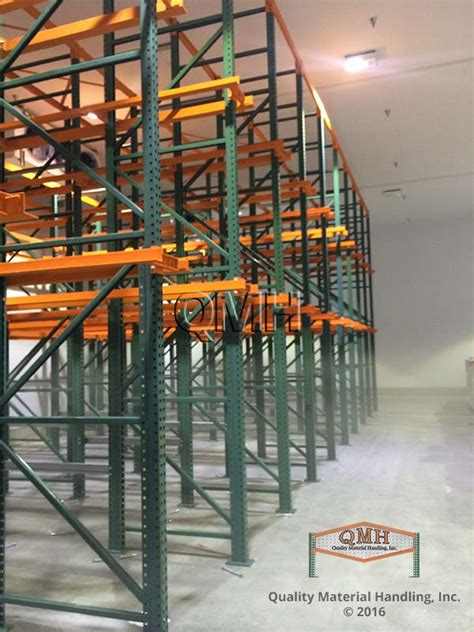 Drive In Drive Through Racking System by Drive In Racking Systems Qmh Inc
