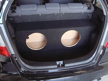 honda fit    enclosure srq customs sarasota fl car audio radar marine