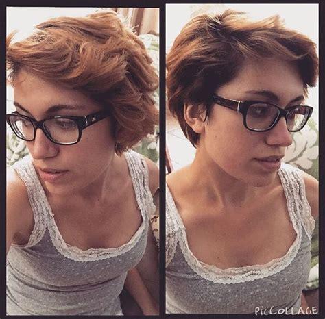 pixie cut curly hair glasses 45 best selfish selfies images on pinterest selfish