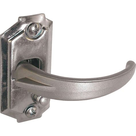 spring loaded and latch video spring loaded storm door strike plate keeps opening