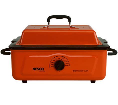 nesco 5 quart roaster oven page 1 qvc