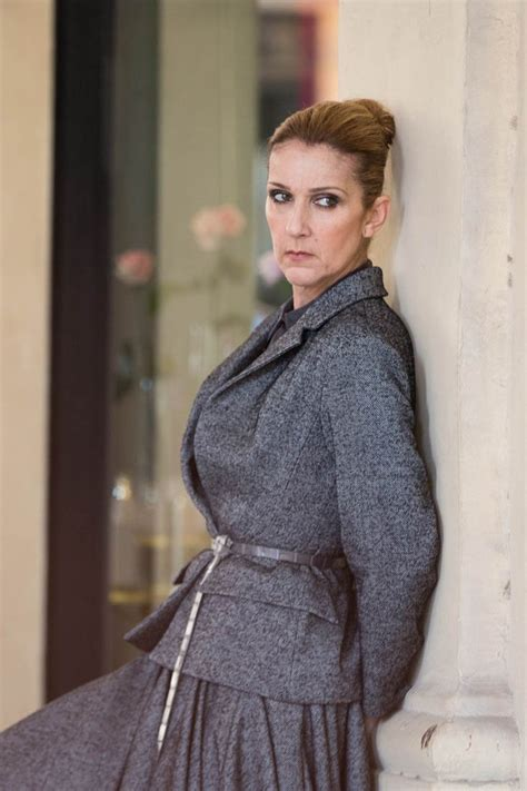 celine dion celine dion wanted to be treated like a model for vogue