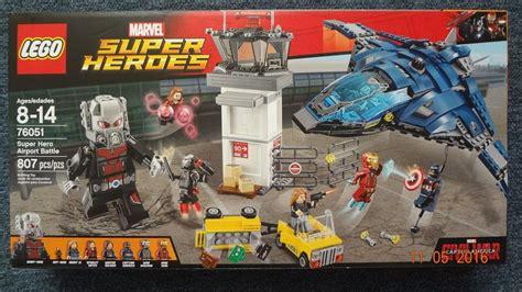 Lego Marvel Heroes 76051 Airport Battle lego set 76051 airport battle marvel heroes 2 990 00 en mercado libre