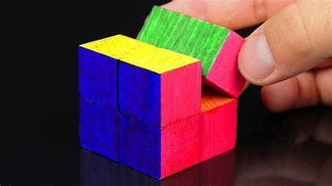 Infinity Cube how to make an easy infinity cube