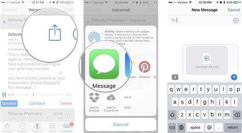 iphone voicemail how to set up and use voicemail on iphone imore