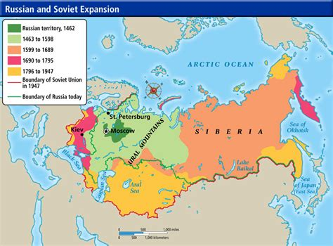 russian empire map world cultures maps