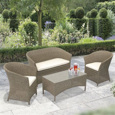 Faux Wicker Patio Furniture by Rattan Patio Furniture Part 6