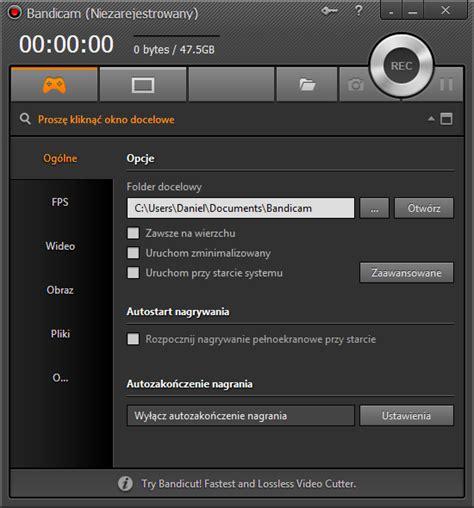 bandicam full version za darmo bandicam 3 4 2 1258 pobierz za darmo free download