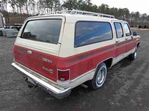 small engine repair training 1994 gmc suburban 1500 auto manual sell used 1987 gmc sierra classic suburban 1500 6 2l diesel runs perfect low mi no reserve in