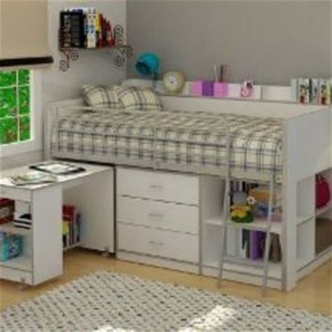 Rack Furniture Loft Bed by Rack Furniture Clairmont Loft Bed White From