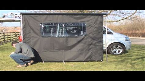 vw california awning vw t5 california awning kit youtube