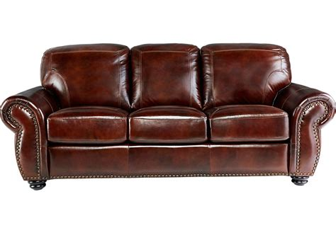 brockett brown leather sofa leather sofas brown