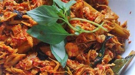 resep  membuat ayam suwir kemangi bumbu bali