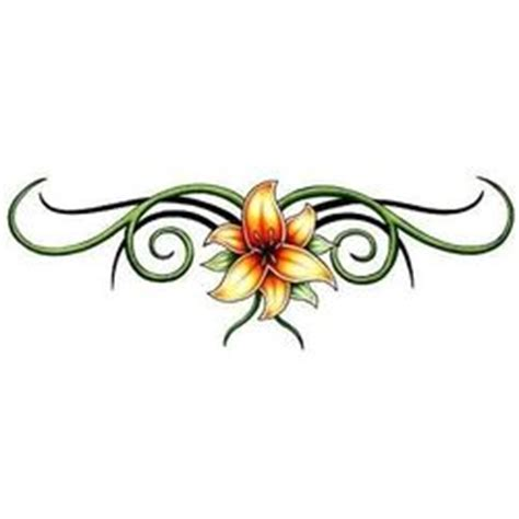 orange lily tattoo designs 17 best images about pics on on back
