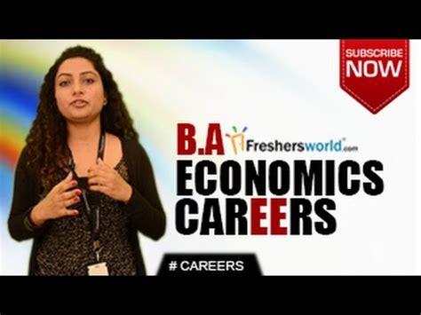 Freshersworld Mba Internship by Careers In Ba Economics Ma P Hd Economist