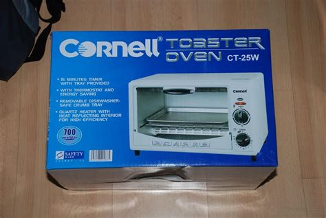 Toaster Cornell brand new cornell oven toaster ctg 19 johor end time 7