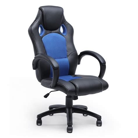 Desk Chair For Gaming High Back Race Car Style Seat Office Desk Chair Gaming Computer Chair New Ebay