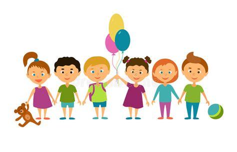 imagenes niños en caricaturas ni 241 os personajes de dibujos animados ilustraci 243 n del