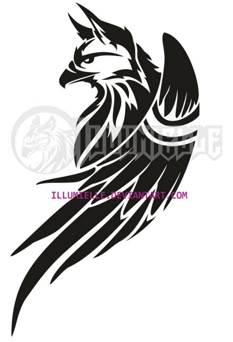 tattoo griffin by illumielle on deviantart