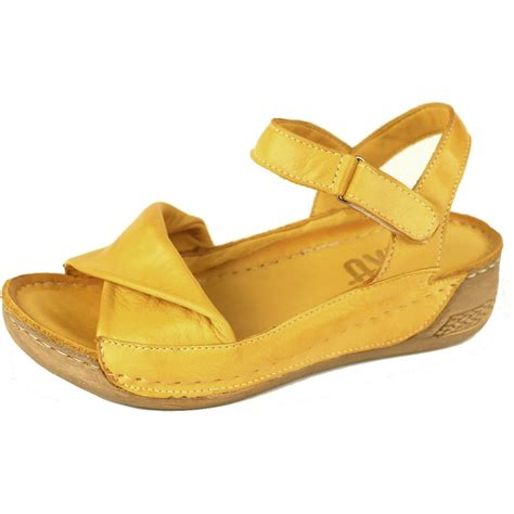 yellow sandals riva fara s yellow sandals free delivery at shoes