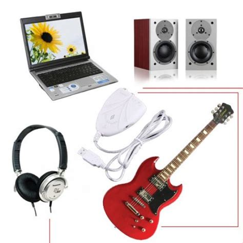 Usb Guitar Link Bandung usb guitar link cable version 2 oem white jakartanotebook