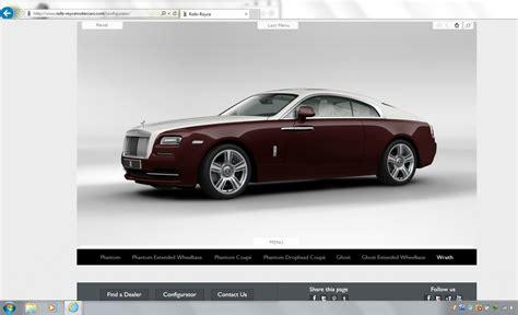 Rolls Royce Configurator by Rolls Royce The Spirit Of Ecstasy Turns Digital
