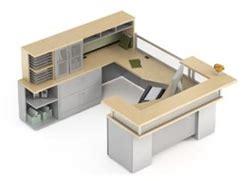 Zira Reception Desk Global Total Office Zira Series Luxury Reception Desk With Glass Accents