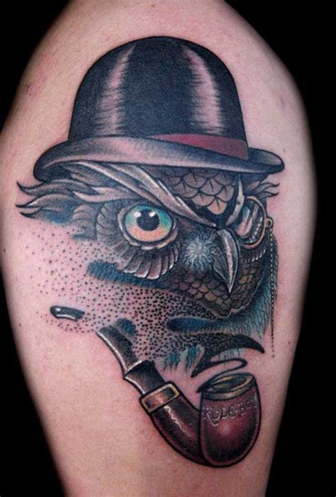 finger owl tattoo for men tattoos blog tattoos blog