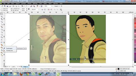 tutorial adobe illustrator cs5 untuk pemula menjadikan foto asli ke vector cartoon corel versi2