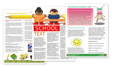 free elementary school newsletter template worddraw free newsletter templates for microsoft word