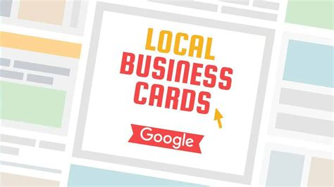 Local Business Cards