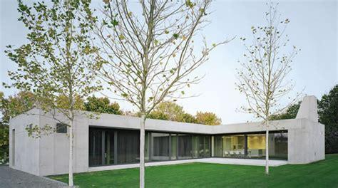 bungalow architektur bungalow in sichtbeton beton org