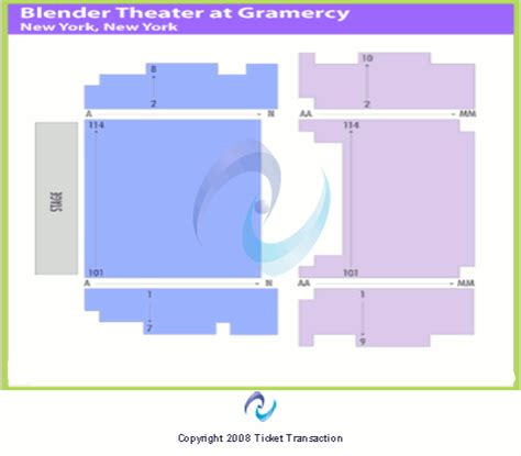 gramercy theater seating gramercy theatre seating chart
