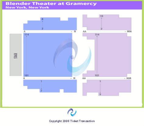 gramercy theatre new york seating chart gramercy theatre seating chart
