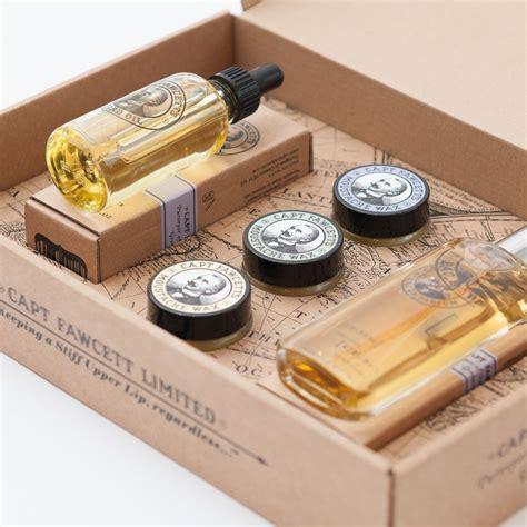 beard care gift set eau de parfum moustache wax beard oil gift set