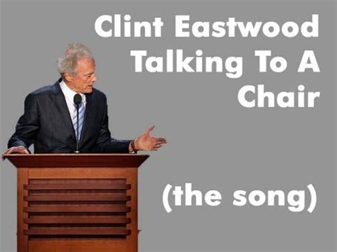 Clint Eastwood Talking To Chair by Clint Eastwood S Empty Chair Speech Eastwooding