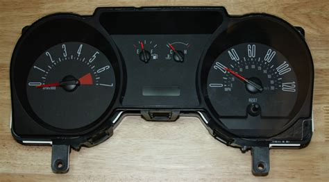 2005 ford mustang cluster 2005 mustang speedometer problems
