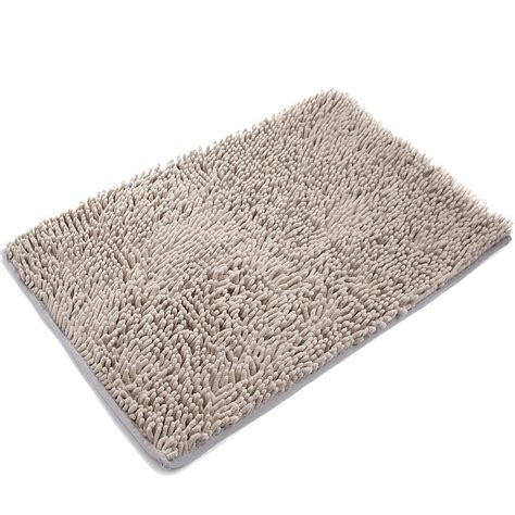 Bathroom Shower Mats Vdomus Non Slip Microfiber Shag Bath Mat Bathroom Mats Shower Rugs Ebay